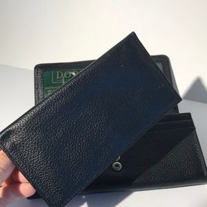 Buxton Dopp Roma leather wallet new with tags